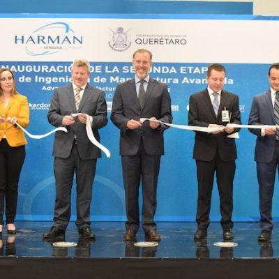 Inauguran 2da etapa del Centro de Ingeniería de HARMAN