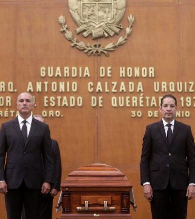 Rinden Homenaje al Arq. Antonio Calzada Urquiza