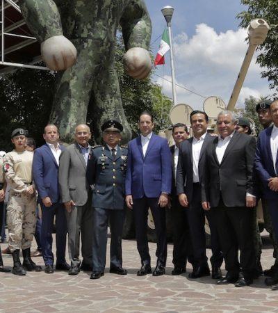 Reconoce Gobernador al Ejército Mexicano