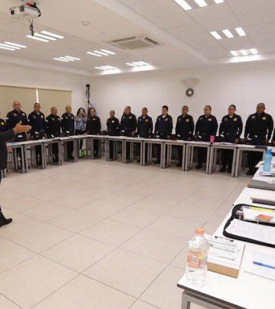 Reconoce Luis Nava labor de la Guardia Municipal de Querétaro
