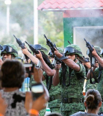 Clausuran Exposición Militar
