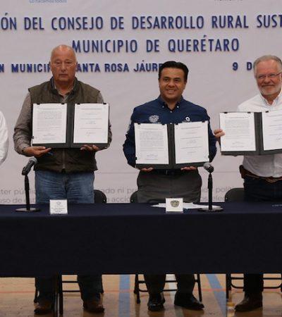 El desarrollo y bienestar también debe ser para nuestro campo: Luis Nava