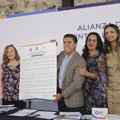 Firman Alianza de Mujeres Queretanas contra las adicciones