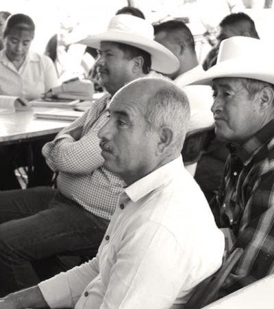 Se realiza la 4ta reunión ordinaria con autoridades auxiliares del Municipio de Huimilpan