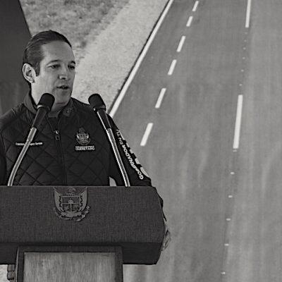 Entrega Gobernador obras de modernización de la carretera Amealco – SJR