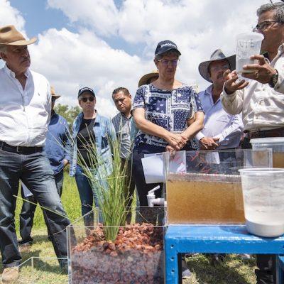 Continúa El Marqués y UAQ con Programa de Restauración Hidrológica y Saneamiento del Río Querétaro