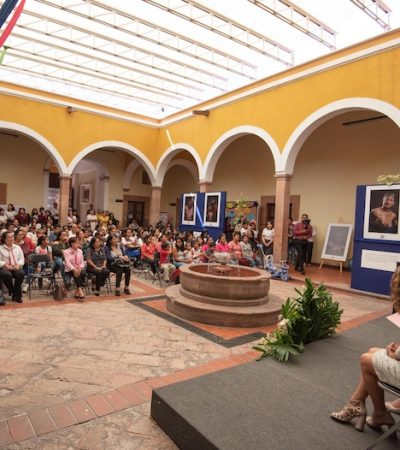 """Inauguran muestra fotográfica """"Y no me rindo"""" en El Marqués"""