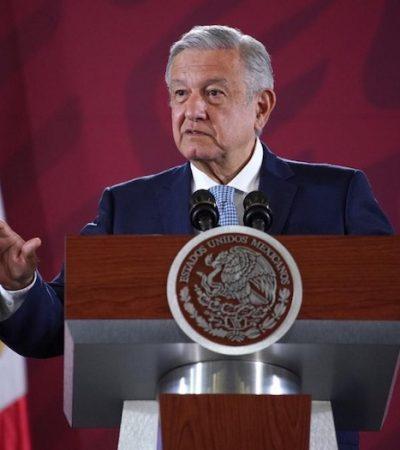 No habrá confrontación con el gobierno de Estados Unidos: AMLO