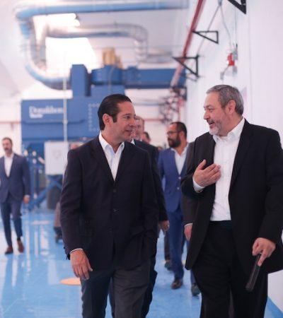 Inauguran nueva planta de Morgan Advanced Materials