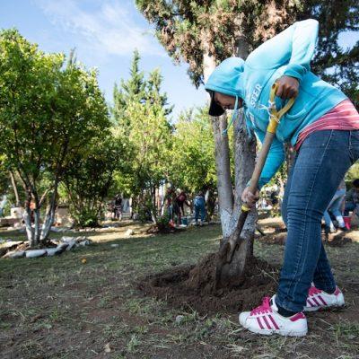 Continúa El Marqués con la dignificación de espacios educativos
