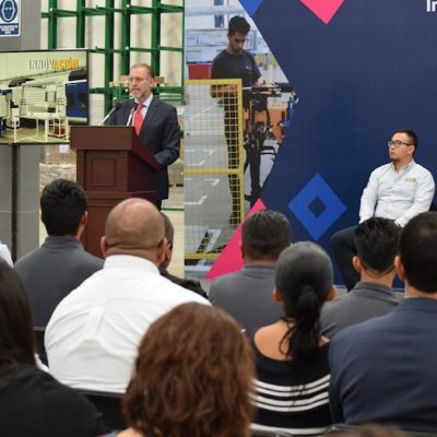 Inauguran empresa PXI Automotive Mexico