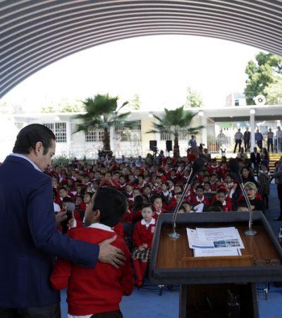 Refrenda FDS apoyos para infraestructura educativa en 2020