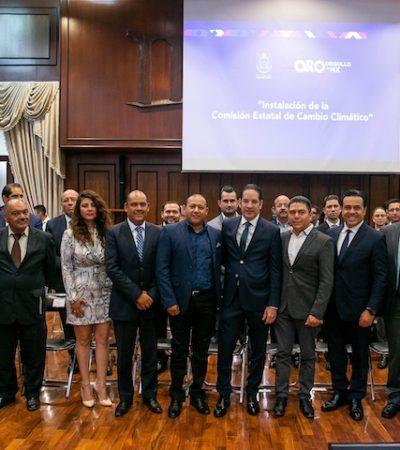Querétaro es líder en materia ambiental