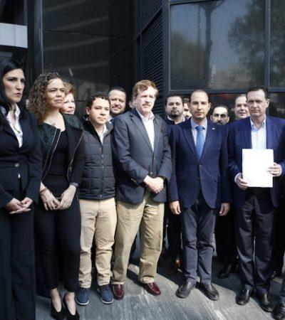 Continúa GPPAN batalla jurídica contra elección de CNDH