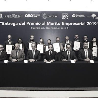 Entregan Premio al Mérito Empresarial 2019