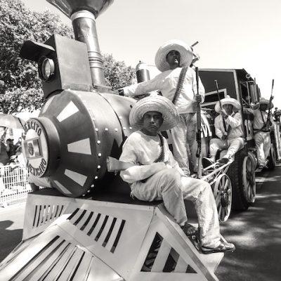 Conmemoran 109 años de la revolución mexicana