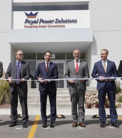 Inauguran Royal Power Solutions en El Marqués