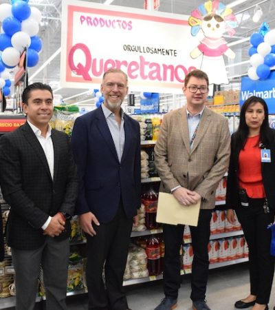 Inauguran Walmart Corregidora