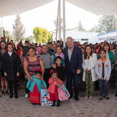Abrigan a 500 niños de 24 comunidades de El Marqués