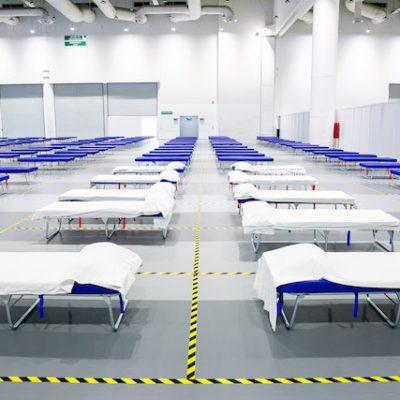 Listo QCC como Unidad Médica y de Aislamiento COVID-19