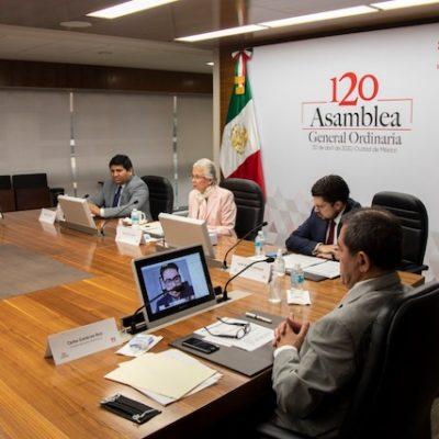 Infonavit celebra primera asamblea virtual en su historia