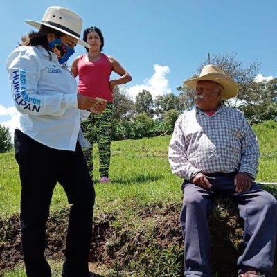 Inicia la entrega del programa de barbecho en Huimilpan