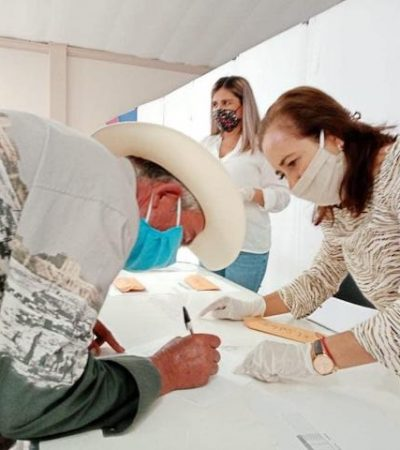 Continúa el Programa de Barbecho en Huimilpan