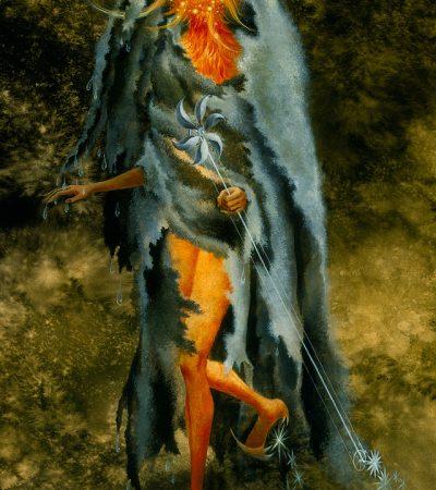 Obra de Remedios Varo  Título original: El dictado mágico