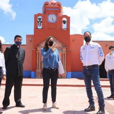 Inaugura Gobernador obras en Huimilpan