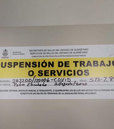 Suspende Ssa 113 establecimientos por incumplir medidas sanitarias