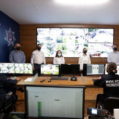 Inauguran instalaciones del C4 en Huimilpan