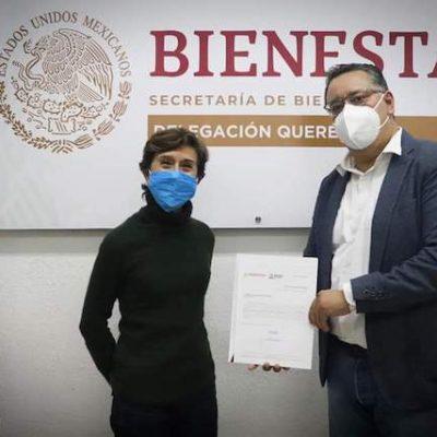 Rocío Peniche nueva delegada de Bienestar