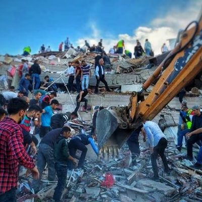 Grecia y Turquía, el sismo en el mar Egeo