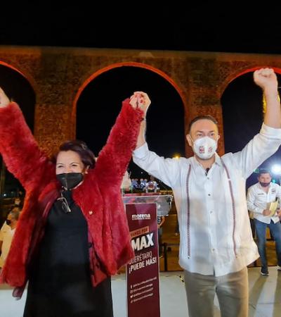 Vamos a evolucionar a un Querétaro más competitivo, más seguro: Arturo Maximiliano