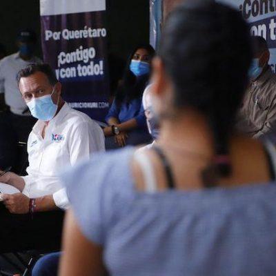 Promete Mauricio Kuri apoyos para mujeres jefas de familia y seguro de desempleo
