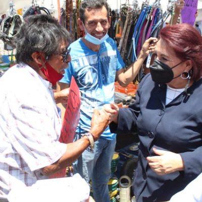Promete Celia Maya erradicar la corrupción