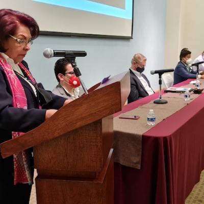 Participa Celia en el foro sobre el Desarrollo Económico de Querétaro 2021