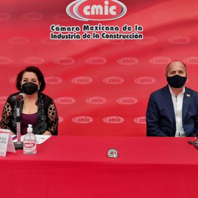 Celia Maya presentó propuestas a la CMIC