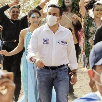 Luis Nava se comprometió a impulsar un Cinturón de Conservación Ambiental Metropolitano