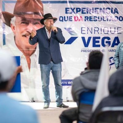 Enrique Vega por más apoyos para personas con discapacidad