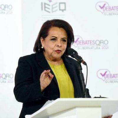 Iremos juntos con los empresarios que sean solidarios: Celia Maya