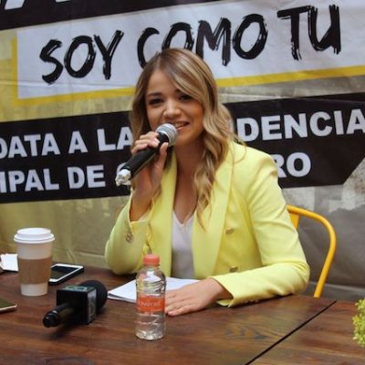 Llama Vanesa Garfias a tener elecciones sin violencia