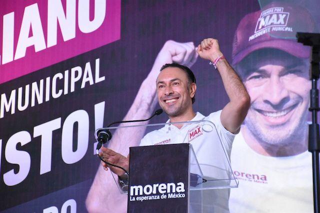 Admite derrota Arturo Maximiliano