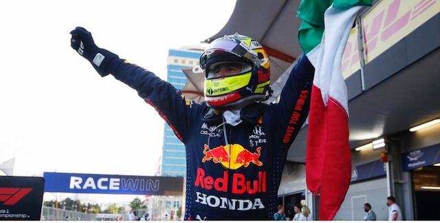 Triunfa Checo Pérez en el Gran Premio F1 de Azerbaiyán
