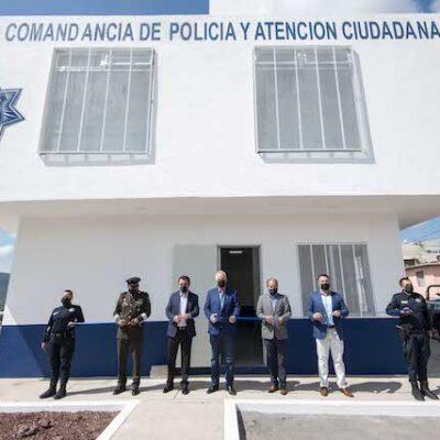 Entrega Enrique Vega Subcomandancia en Tierra Blanca