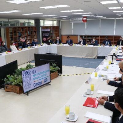 Instalan Alianza Estratégica por la Educación