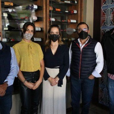 Se reúne Mariela Morán con empresarios del sector turístico de Tequisquiapan